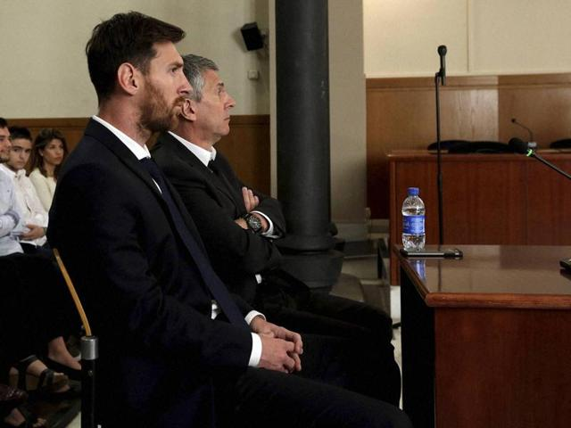 Messi and his father Jorge Horacio Messi are accused of using a chain of fake companies in Belize and Uruguay to avoid paying taxes on 4.16 million euros ($4.6 million) of Messi's income earned through the sale of his image rights from 2007-09.