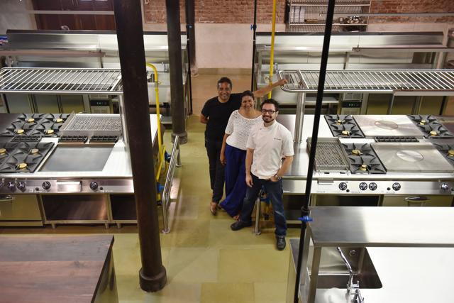 "Inspired by kitchen rental spaces (where chefs can rent the kitchen for a day) and cooking studios in the West, Magazine Street Kitchen will function as many things all at once. ""It can be used by chefs to come and experiment, host intimate dinners, for underground food events or just to test their recipes,"" says Yousuf."