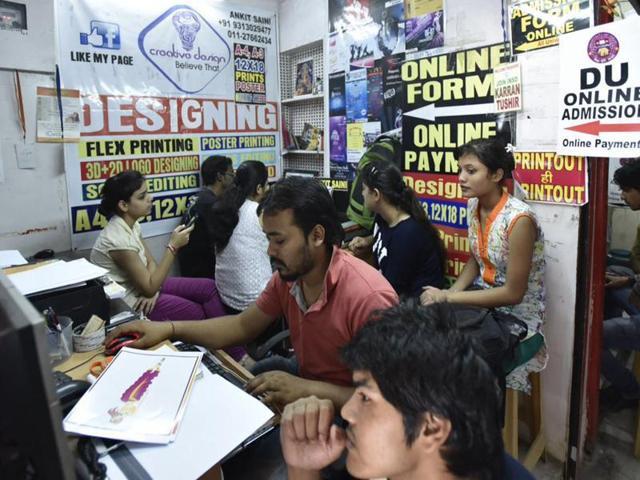 DU admissions,campus calling,Delhi university