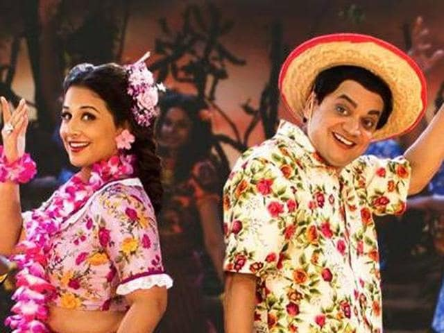 The peppy dance number shows Vidya Balan and Mangesh Desai burning the dance floor in retro style.
