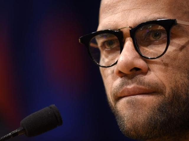 Alves is under contract with Barcelona until June 2017.