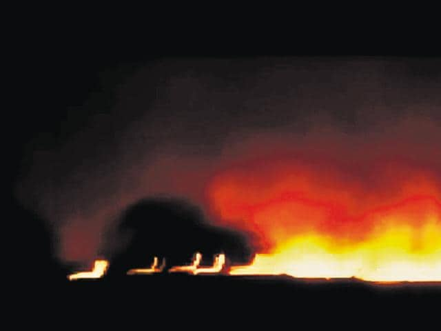 The Pulgaon fire