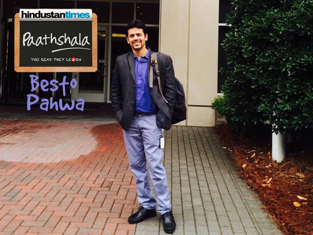 29 year old Project Manager, Besto Pahwa was on the lookout for the right opportunity to do something for children in need of education and his search ended when he learnt of HT Paathshala.