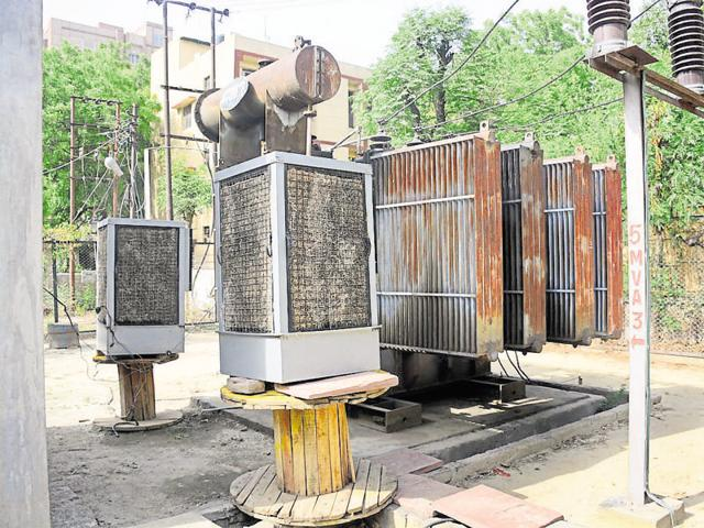 The power department is using coolers at substations to keep electricity infrastructure from overheating.