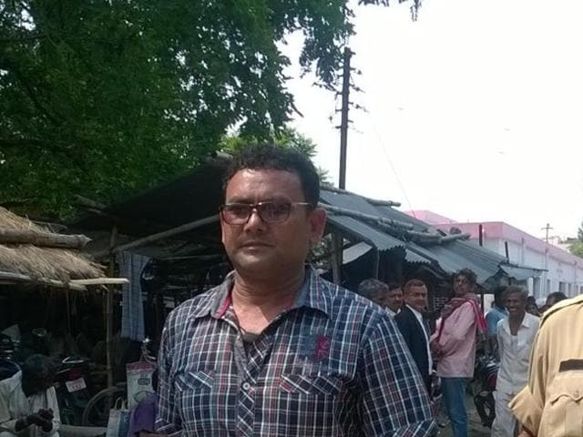Laddan Mian, a prime suspect in the murder of Siwan journalist Rajdeo Ranjan, surrendered before the police on June 2, 2016.