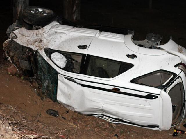 Two people lost lives in a head-on-collision between an SUV and a tractor trailer near the South City area on Wednesday late night