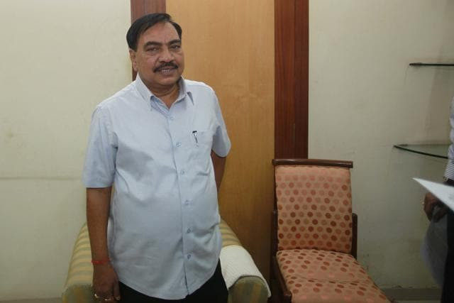 Maharashtra's revenue minister Eknath Khadse has been in the eye of storm over  allegations of corruption and misconduct. A land deal by his wife Mandakini and son-in-law Girish Chaudhary  involves conflict of interest and quid pro quo.