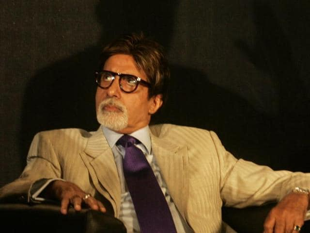 """I have been fortunate that I still get to do some work,"" says Amitabh Bachchan."