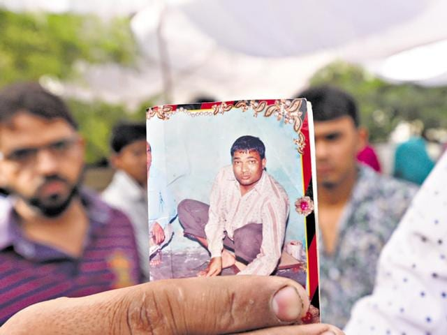 Azhar Ali, 36, died of injuries he sustained while trying to stop a fight between his son and some other boys.