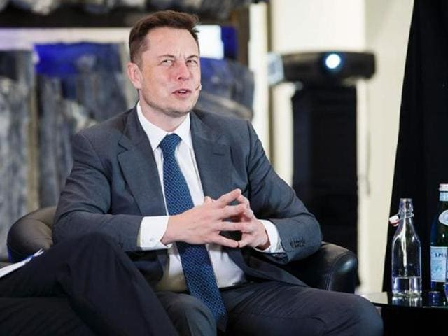 Elon Musk, CEO of Tesla Motors, attends an environmental conference at Astrup Fearnley Museum in Oslo.