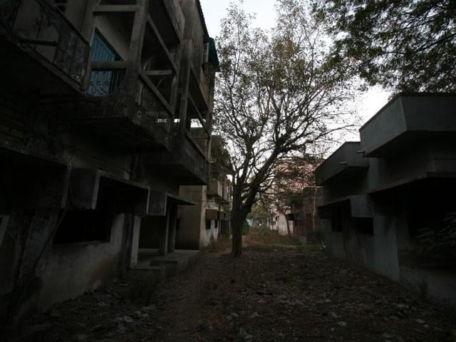 File photo of Gulberg Society in Ahmedabad.