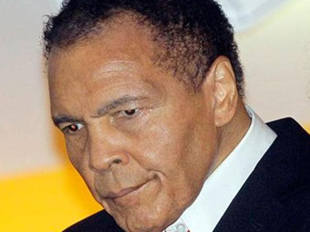 Boxing great Muhammad Ali is hospitalised in the Phoenix area, two people familiar with his condition said.