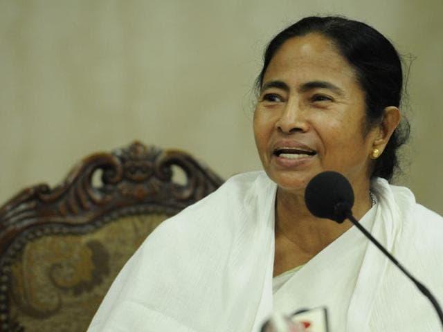 File photo of Trinamool Congress leader and West Bengal chief minister  Mamata Banerjee.