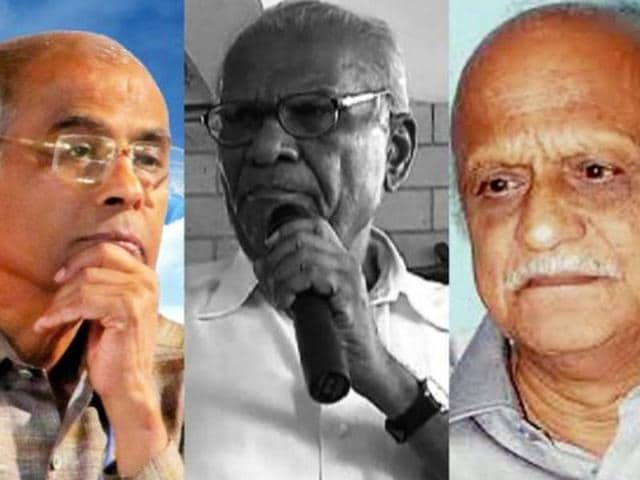 Govind Pansare,Narendra Dabholkar,MM Klaburgi
