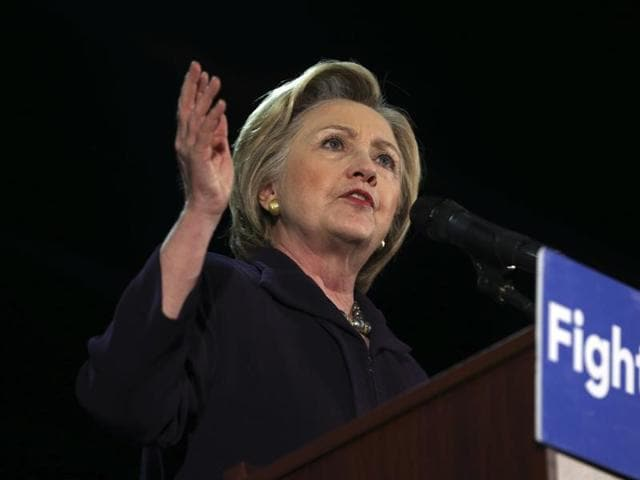 US presidential hopeful Hillary Clinton has garnered support of the Asian-American and Pacific Islander community, which includes Indian Americans, as she ventures to California aiming to snatch the Democratic presidential nomination from rival Bernie Sanders next week.
