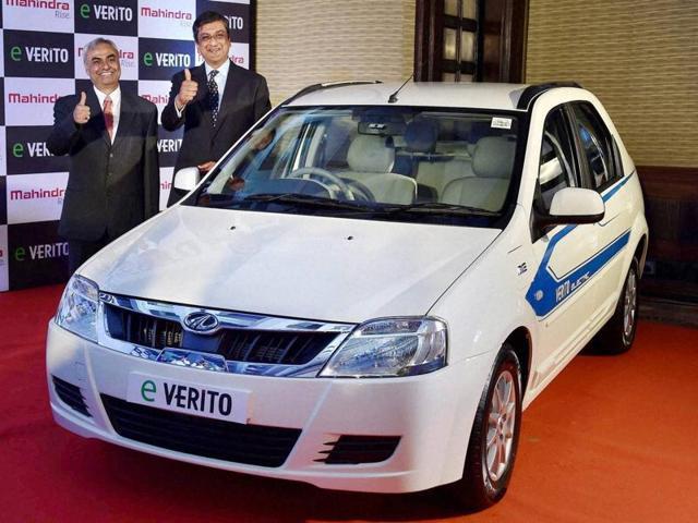 Mahindra electric car,Mahindra eVerito,eVerito