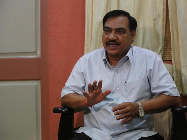 Eknath Khadse,Maharashtra,revenue minister