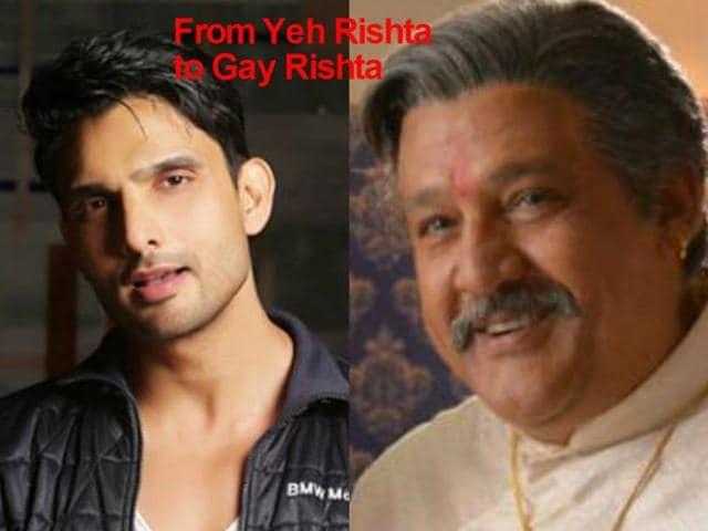 Both Alok Nath and Amal Sehrawat work in the popular , soap Yeh Rishta Kya Kehlata Hai.