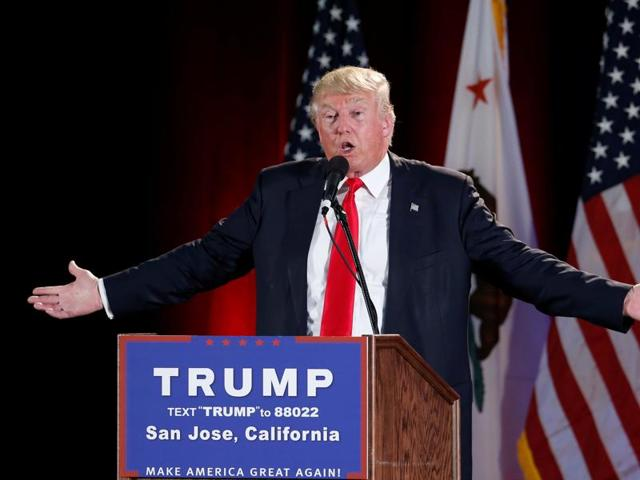 A group of protesters attacked supporters of Donald Trump, who were leaving the candidate's rally in San Jose on Thursday night. A dozen or more people were punched, at least one person was pelted with an egg and Trump hats grabbed from supporters were set on fire on the ground.