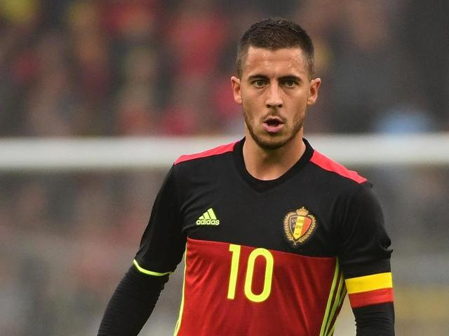 Eden Hazard owes his status in large part to the hundreds of hours spent kicking a ball on the field next to his own garden, in the town of Braine-le-Comte.