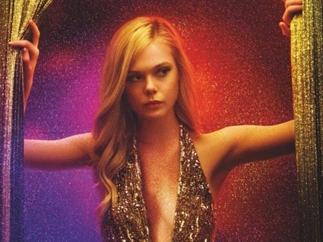 Elle Fanning in a still from The Neon Demon, the new film by Nicolas Winding Refn.