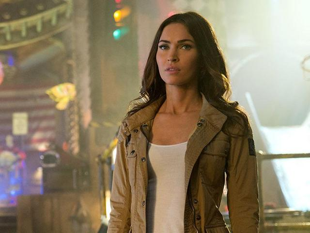 Megan Fox in a still from Teenage Mutant Ninja Turtles: Out of the Shadows.