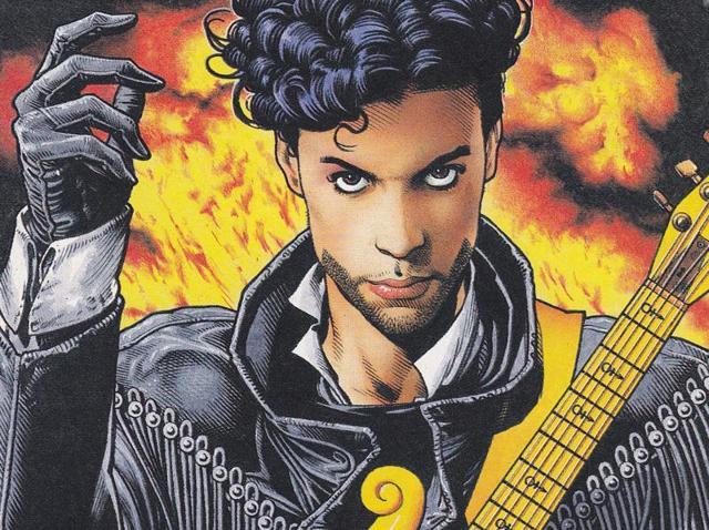 Prince,prince comic book,rock superstar