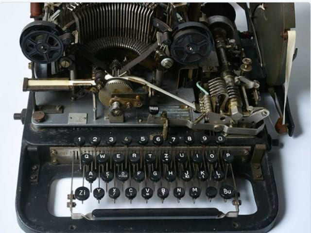 Hitler's Lorenz machine boasted 1.6 million billion possible coding combinations thanks to a series of twelve rotors, a million times more complex than the more feted Enigma machine.