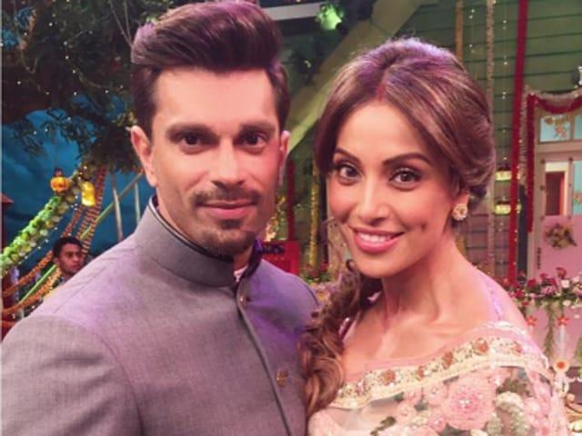Karan Singh Grover and Bipasha Basu on The Kapil Sharma Show.