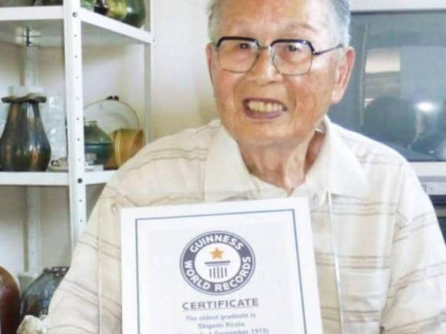 Japanese man,Guinness World Records,Shigemi Hirata