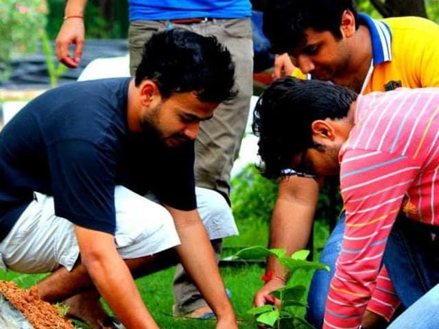 OnSunday, Swechha India will plant saplings across Gurgaon.