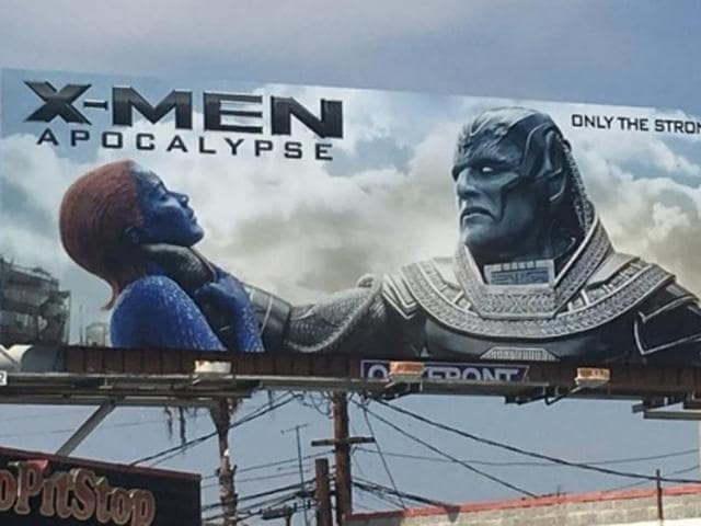 X Men Apocalypse,X Men,X Men Billboard