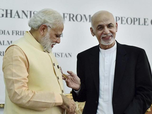 PM Modi,Modi in Afghanistan,Amir Amanullah Khan Award