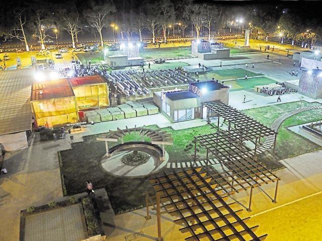 Chandigarh MC,Rs 5 lakh a month,multi-level parking lot