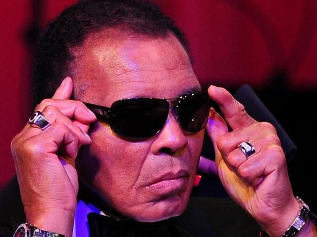 """Legendary heavyweight boxing champion Muhammad Ali """"passed away at the age of 74,"""