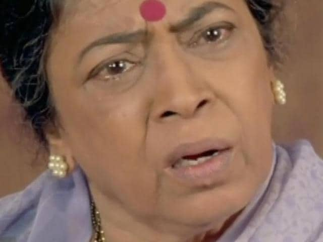 Veteran actor and theatre person Sulabha Deshpande passed away on June 4, 2016.