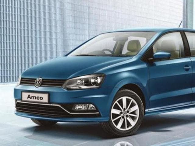 Ameo is Volkswagen's entry into the competitive compact sedan segment.