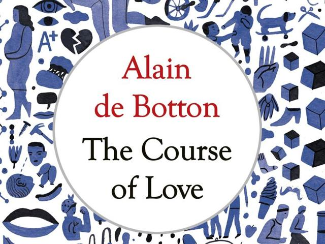 Author Alain de Botton's latest book,  The Course of Love, is about  the course of love after marriage.