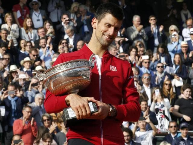 Novak Djokovic claimed his first career French Open title.