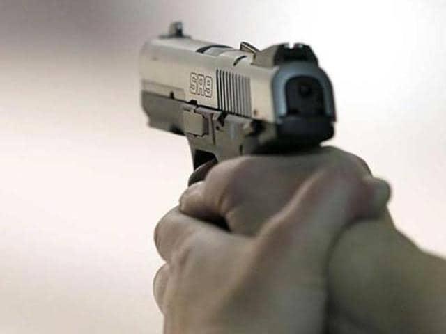faridabad murder,heena exporter's son shot,murder caught on CCTV