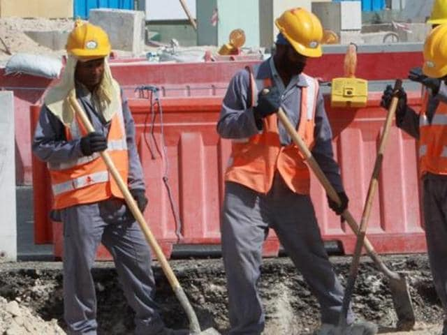 "Almost 60% cent of Qatar's 2.4 million population live in what the government calls ""labour camps"", figures from an April 2015 census showed on Monday, highlighting the issue of the emirate's huge migrant workforce."