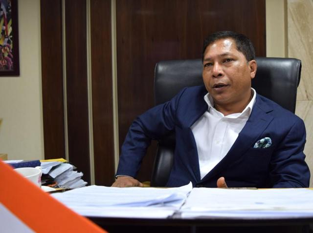 Meghalaya chief minister Mukul Sangma denied dissent within Congress, said grievances blown out of proportion.