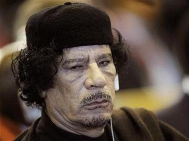 Presumptive Republican nominee Donald Trump was talking about a bizarre incident in 2009, when Moammar Gaddafi was in desperate search of a place to pitch his Bedouin-style tent during a visit to New York for a meeting of the UN General Assembly.