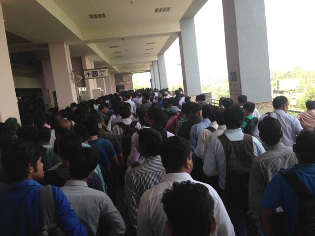 Vaishali Metro station,DMRC,AFC gates malfunction