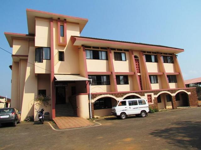 The examination block of the Goa University.