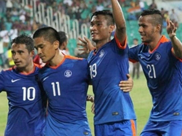 India vs Laos,Guwahati,Valkaone Pomphakdy