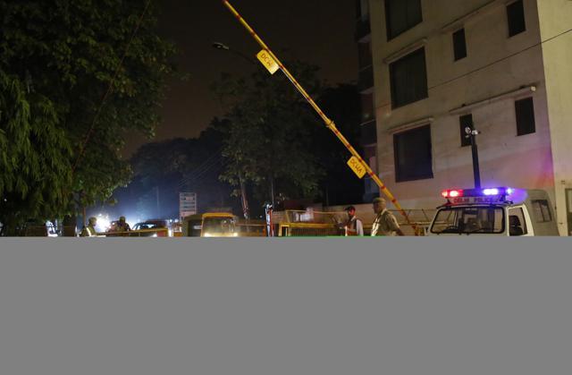 Dekhi Police,Barricades,Alok Kumar Verma