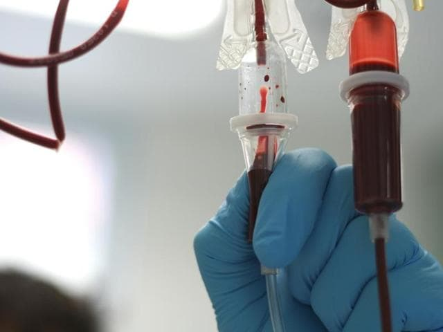 Plasma is often thrown away in India because of preservation problems and lack of laboratories that can extract albumin from it.