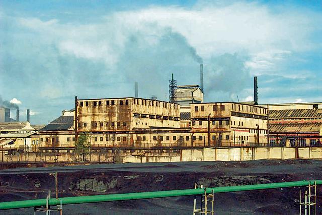 The Indian Copper Complex plant in Ghatsila.