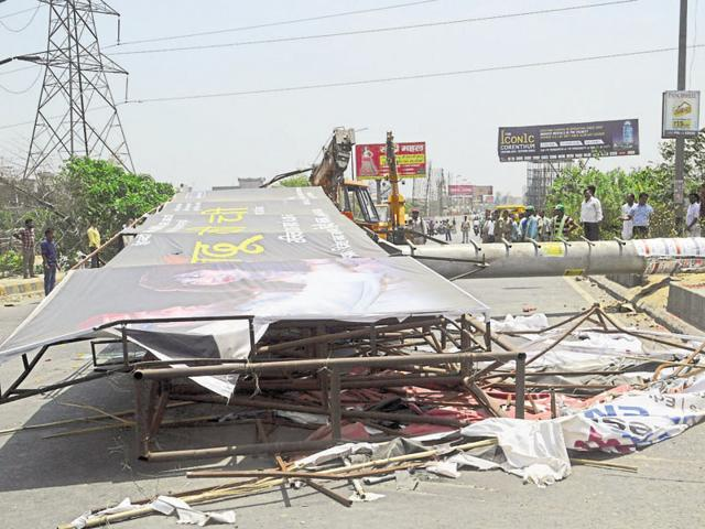 unipole crash,magisterial inquiry,GT Road